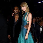 Taylor Swift faz as pazes com Kanye West e Diplo nos bastidores do Grammy 2015!