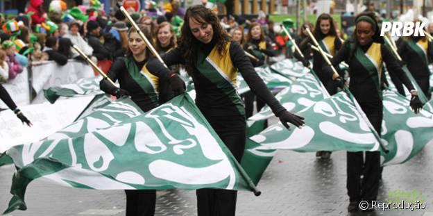 Saint Patrick's Festival, na Irlanda, com um dos desfiles mais conhecidos no mundo por sua criatividade