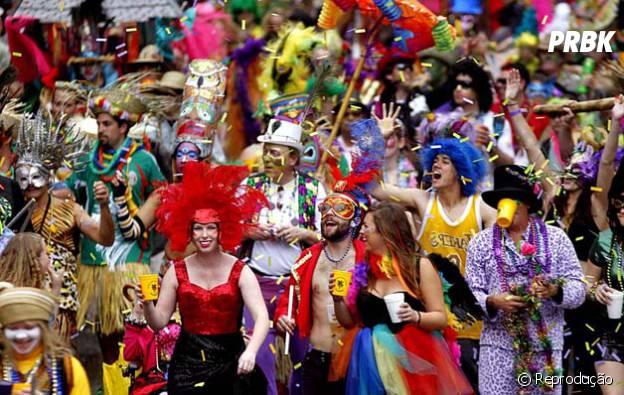 Mardi Gras, Nova Orleans, Estados Unidos, os americanos mostram nessa festa que sabem fazer um bom carnaval comom os brasileros