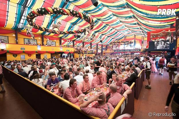Oktoberfest, Alemanha. Pra quem ama cerveja, vai curtir a festa em que a cerveja é mais importante do que água e comida