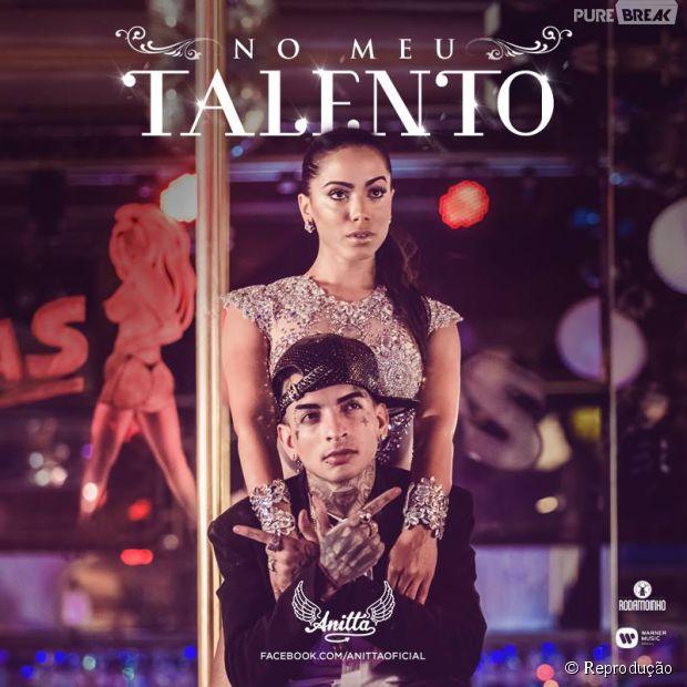 """Anitta emplaca oito milhões de views no clipe """"Ritmo Perfeito"""" e anuncia data de lançamento para a continuação """"No Meu Talento"""""""