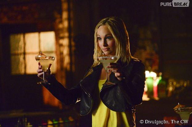 """Em """"The Vampire Diaries"""", Caroline (Candice Accola) não quer saber de mais nada"""