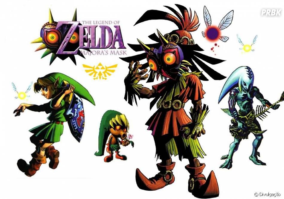 the legend of zelda majora s mask foi um clássico de nintendo 64