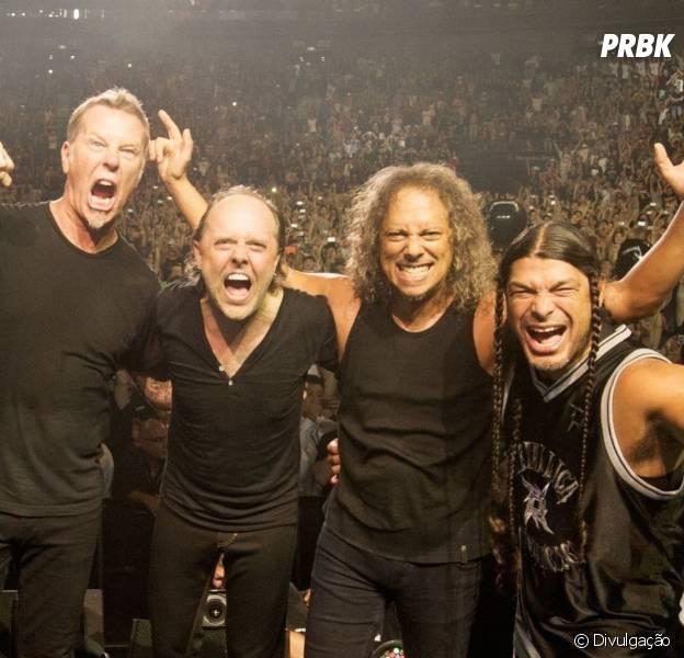 """Banda Metallica é confirmada como atração do Palco Mundo no """"Rock in Rio"""" 2015"""