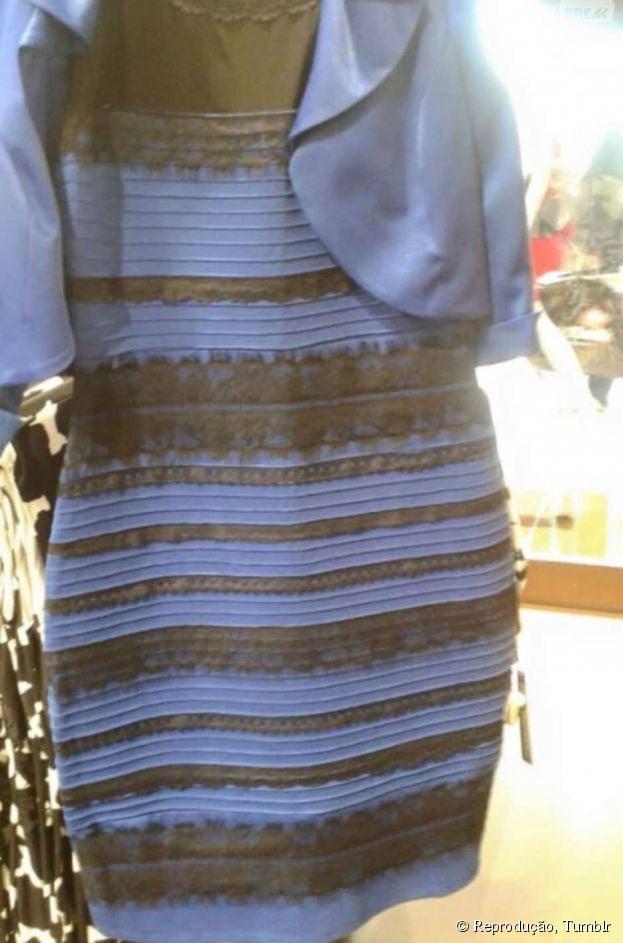 "E aí, ""Qual a cor do vestido?"""