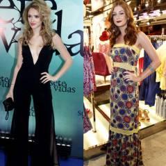 Duelo de looks: Isabelle Drummond ou Marina Ruy Barbosa? Quem arrasou vestindo criações próprias?