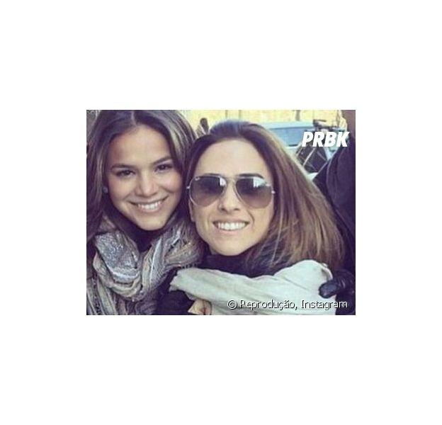 """Bruna Marquezine leva susto daqueles de Tatá Werneck: """"Gol do Neymar"""""""