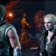 """Família unida em """"Mortal Kombat X"""": veja Sonya Blade, Johnny Cage e sua filha Cassie detonando!"""