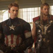 """De """"Os Vingadores 2"""": Thor e Capitão América se estranham em novas cenas inéditas. Veja!"""