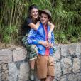 Felipe Simas e Anaju Dorigon arrasam com mais uma opção de look para arrasar no Lollapalooza 2015