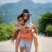 """Felipe Simas e Anaju Dorigon, de """"Malhação"""", posam para fotos no clima do Lollapalooza 2015!"""