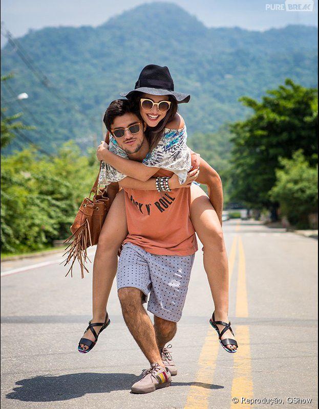 Em clima de Lollapalooza 2015, Felipe Simas e Anaju Dorigon arrasam em ensaio fotográfico