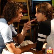 """Novela """"Malhação"""": Pedro (Rafael Vitti) pensa em desistir de Karina (Isabella Santoni) após beijo!"""