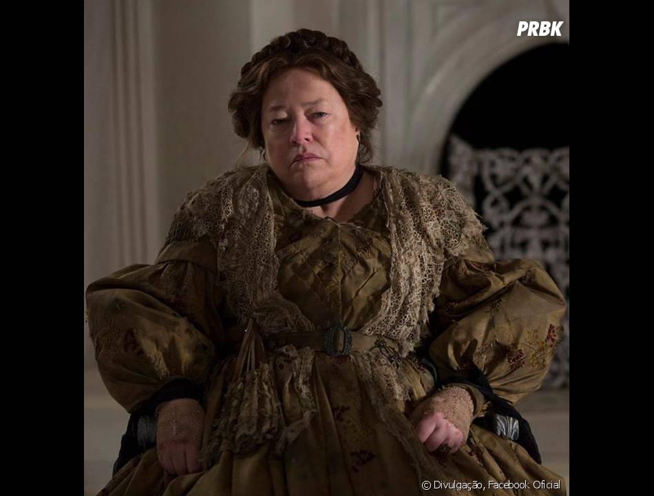 "Madame LaLaurie (Kathy Bates) voltará a ser malvada em""American Horror Story: Coven"""