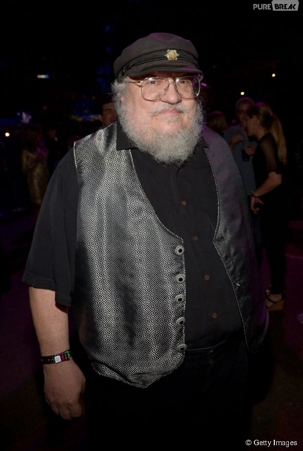 "George R. R. Martin deu dicas de sobreviência aos protagonistas de ""The Walking Dead"""