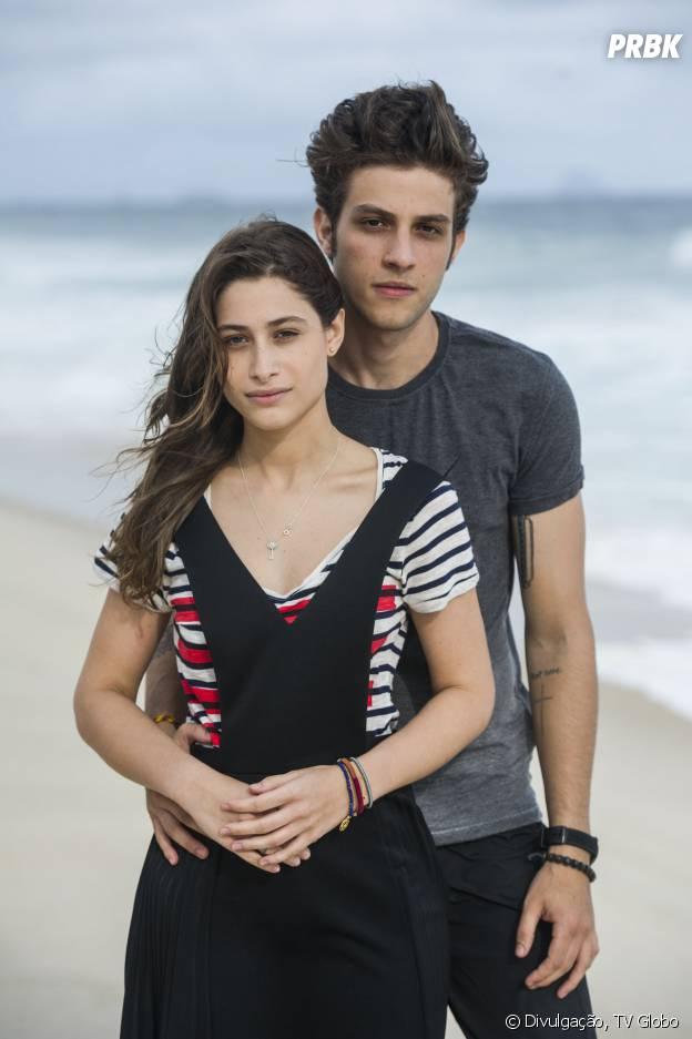 """Rafael (Chay Suede) e Laís (Luísa Arraes) já se encantam um pelo outro de primeira em """"Babilônia""""!"""