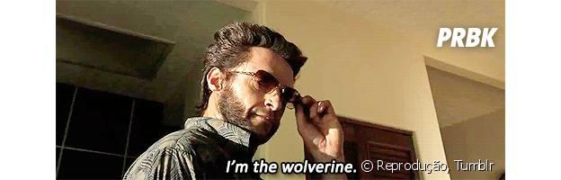 Hugh Jackman interpreta Wolverine