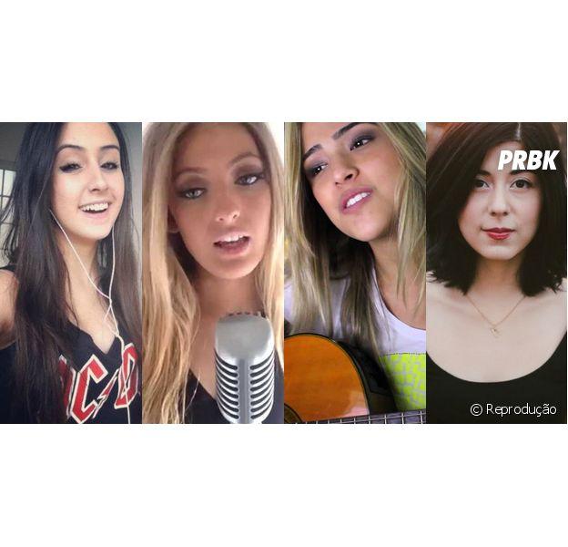Mariana Nolasco, Cimorelli, Sofia karlberg, Gabi luthai e Daniela Andrade entre as cantoras do Youtube que você precisa conhecer imediatamente!