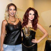 Dulce María e Valesca Popozuda dividem o palco novamente! A ex-RBD está lançando seu livro no Brasil