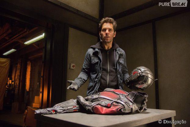 """Paul Rudd, astro de """"Homem-Formiga"""", garante que filme não vai ser uma piada"""