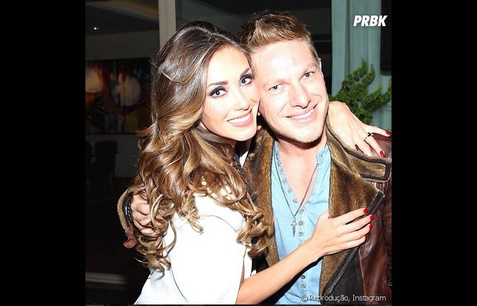 Anahí e seu amigo e antigo produtor, Guillermo Rosas