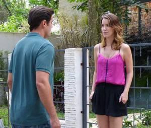 "No final de ""Alto Astral"", Marcos (Thiago Lacerda) consegue fugir da cadeia e sequestra Laura (Nathalia Dill"""