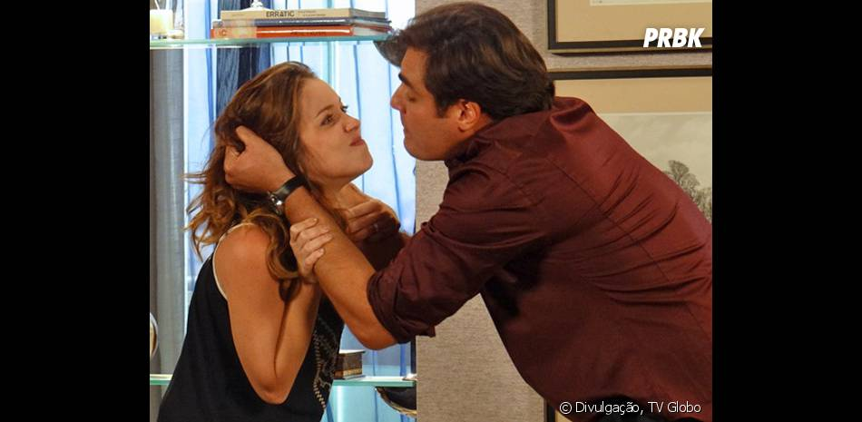 """Marcos (Thiago Lacerda) vai atrás de Laura (Nathalia Dill) e a sequestra por vingança em """"Alto Astral"""""""