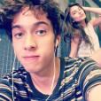 """Bruna Hamú e Guilherme Hamacek, par romântico em """"Malhação"""", são vistos indo pro apartamento da gata depois da gravação"""