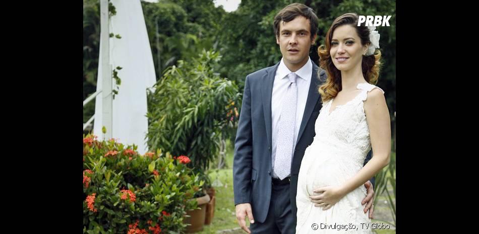 """Em """"Alto Astral"""", o casamento de Laura (Nathalia Dill) e Caíque (Sergio Guizé) reserva grandes emoções"""