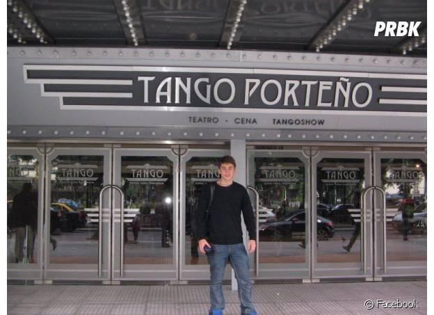 O jovem jornalista Igor Barbosa passou uma temporada estudando e trabalhando em Buenos Aires, na Argentina