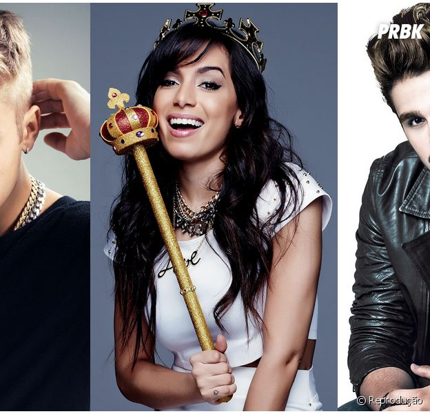 Justin Bieber, Anitta e Luan Santana lideram top 10 do Youtube no Brasil