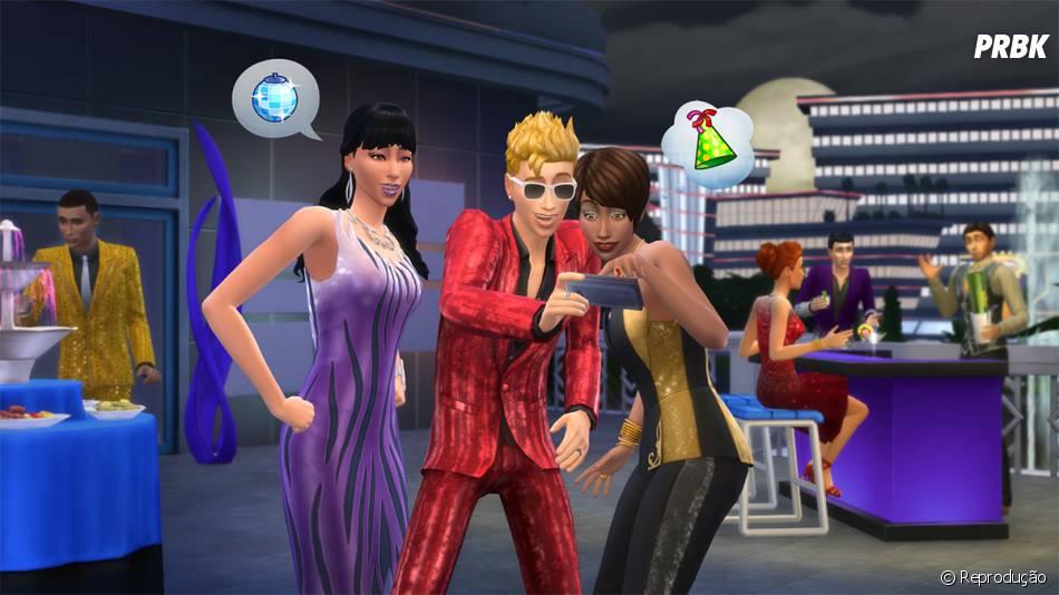 """""""The Sims 4:Festa Luxuosa"""" não terá versão física, sendo necessário baixá-lo pela internet"""