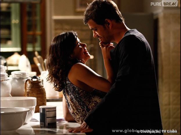"""Aline (Vanessa Giácomo) e Ninho (Juliano Cazarré) vão fazer muitas maldades nessa semana em """"Amor à Vida"""""""
