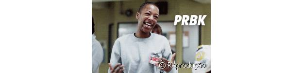"Poussey da série ""Orange is The New Black"""
