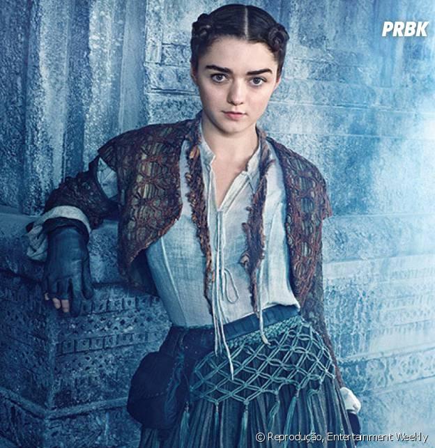 """Será que Arya (Maisie Williams) verá alguém de sua família outra vez em """"Game of Thrones""""?"""