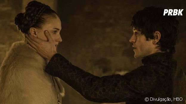 """Sansa (Sophie Turner) teria coragem de matar Ramsay (Iwan Rheon) em """"Game of Thrones""""?"""