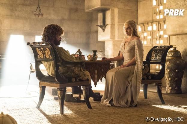 """Em """"Game of Thrones"""", quando começará a jornada de Tyrion (Peter Dinklage) e Daenerys (Emilia Clarke) em busca do Trono de Ferro?"""
