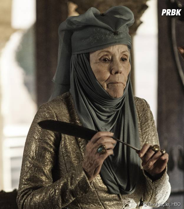 """Olenna (Diana Rigg) vai querer se vingar de High Sparrow (Jonathan Pryce) em """"Game of Thrones""""?"""