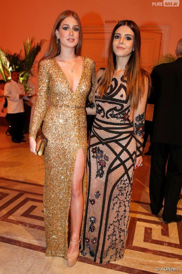 Marina Ruy Barbosa e Giovanna Lancellotti representam a juventude da Globo no Prêmio Contigo!