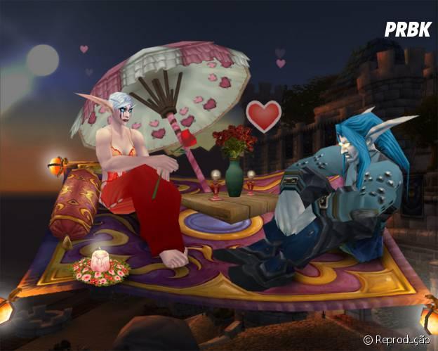 """""""World Of Warcraft"""" tem várias paisagens românticas pra se aventurar com mozão"""
