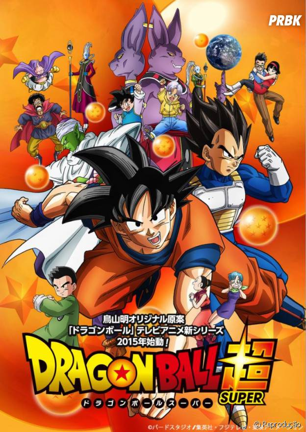 "Cartaz oficial de ""Dragon Ball Super"", o retorno da franquia de anime para TV"