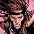 O personagem Gambit se tornou popular nas histórias em quadrinhos