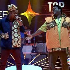 """No """"SuperStar"""": banda Dois Africanos fica no topo do ranking e dois grupos não sobrevivem ao TOP 9!"""