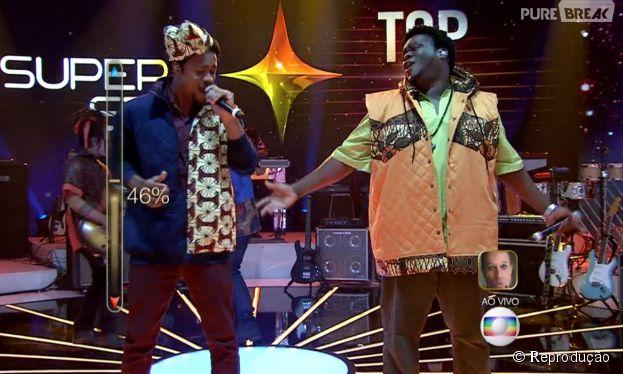 """A banda Dois Africanos ficou em primeiro lugar no TOP 9 do """"SuperStar"""""""