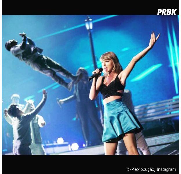 "Taylor Swift em sua turnê de ""1989"""