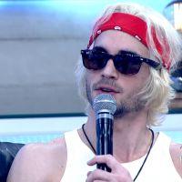 """Fiuk mostra cabelo loiro platinado no """"Encontro com Fátima Bernardes"""" e faz mistério sobre projeto"""