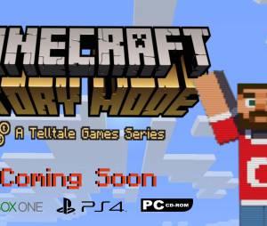"""Primeiro trailer de """"Minecraft: Story Mode"""""""