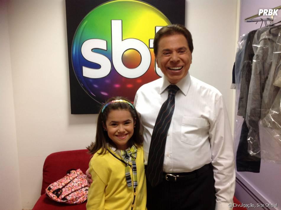 Maisa Silva E Silvio Santos Nos Bastidores Do Teleton No Sbt Purebreak