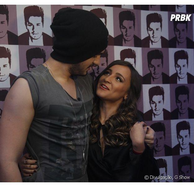 Luan Santana pede Bárbara Dias em namoro nos bastidores de sua turnê