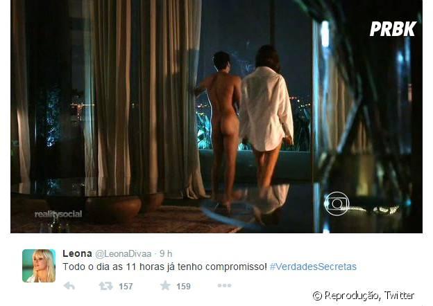 """Rodrigo Lombardi mostrou o bumbum como o Alex de """"Verdades Secretas"""" e fez sucesso na internet!"""
